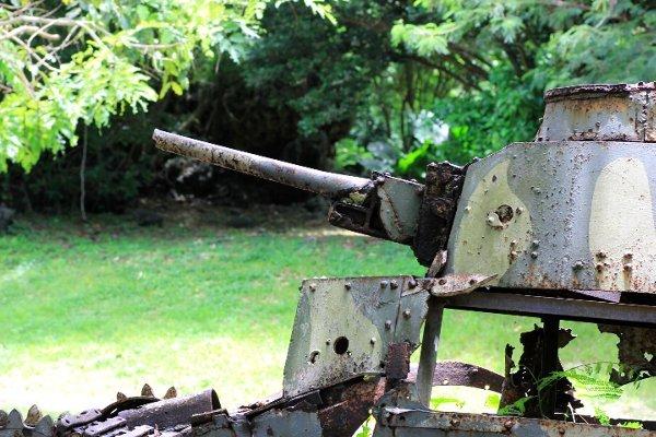 こわれた戦車