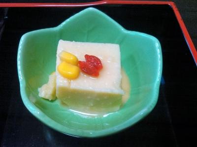 20160726ピーナツ豆腐