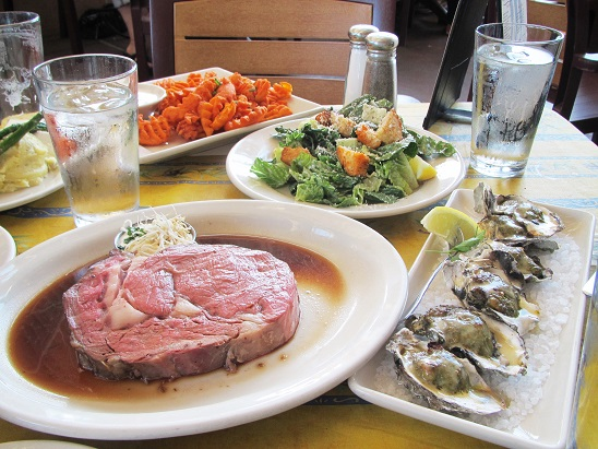 米国出張12 シアトル レストラン004