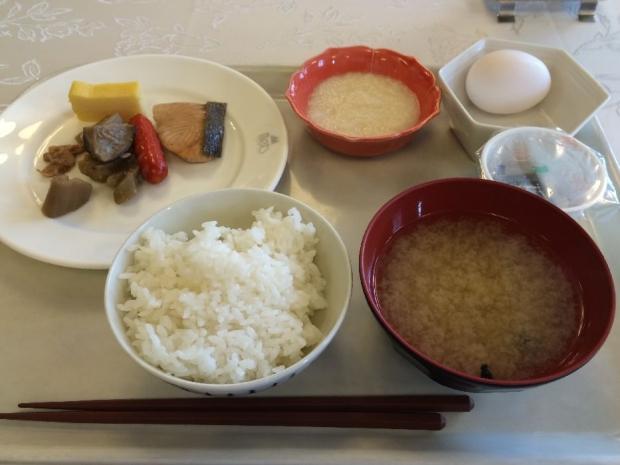 ホテルメッツ朝ごはん (1)
