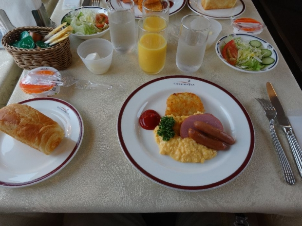 朝ご飯@カシオペア (1)
