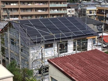 K邸太陽光発電