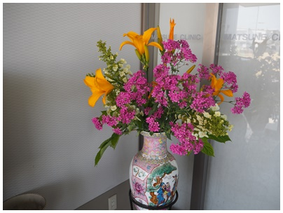 23日北堀さんの花2