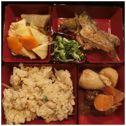 鶏飯 アジ南蛮