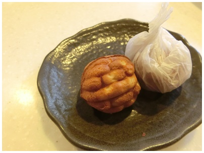 姫路(クルミ饅頭)1