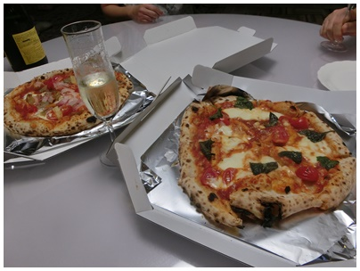 DEARのピザ