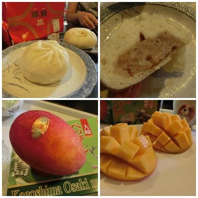 かなのお土産とマンゴー