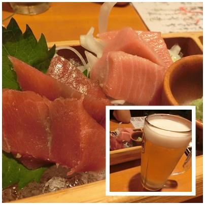 せり壱4(鮪の食べ比べ)