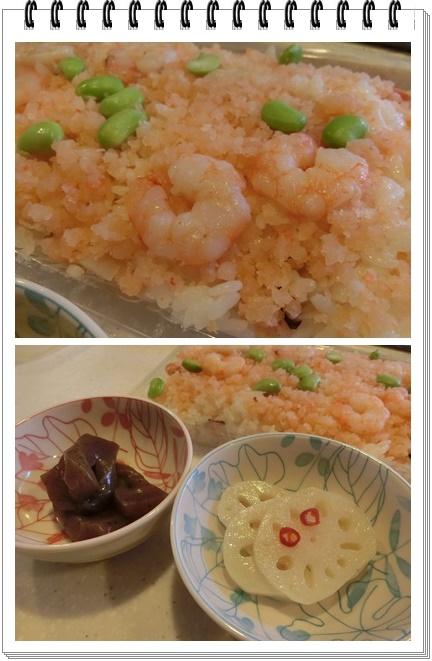 海老のお寿司
