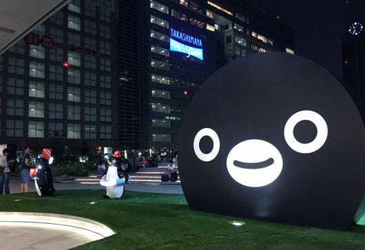 14_「Suica のペンギン広場でおしゃべり