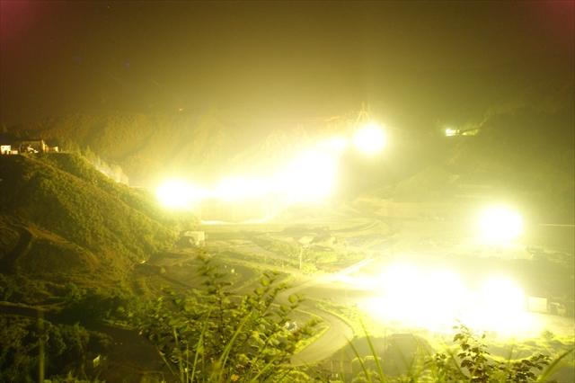 伊良原ダム建設現場-3