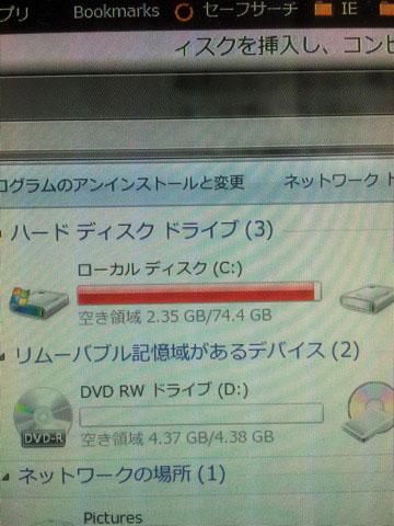 限界Cドライブ