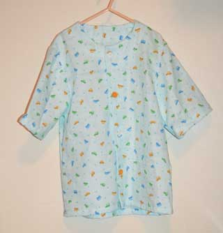 ガーゼのパジャマ