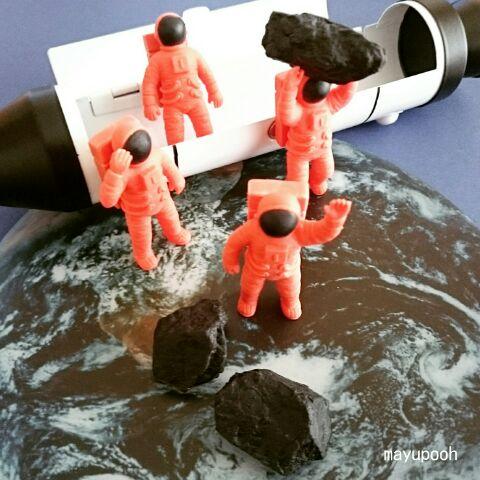 宇宙飛行士消しゴム