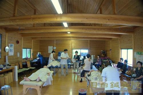 2016年6月グリーフケア鍼灸 福島 ログハウス