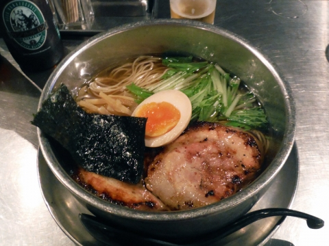 炙りチャーシューらーめん・醤油(まろ味)