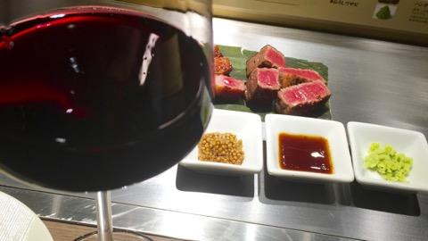 オニクとワイン