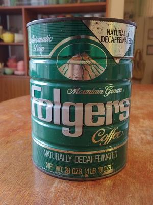 Folgers缶