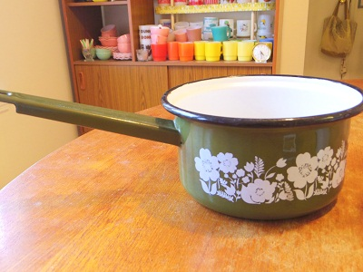 レトロ片手鍋