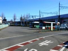 前橋駅バス待機所