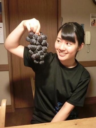 ミントさんから葡萄