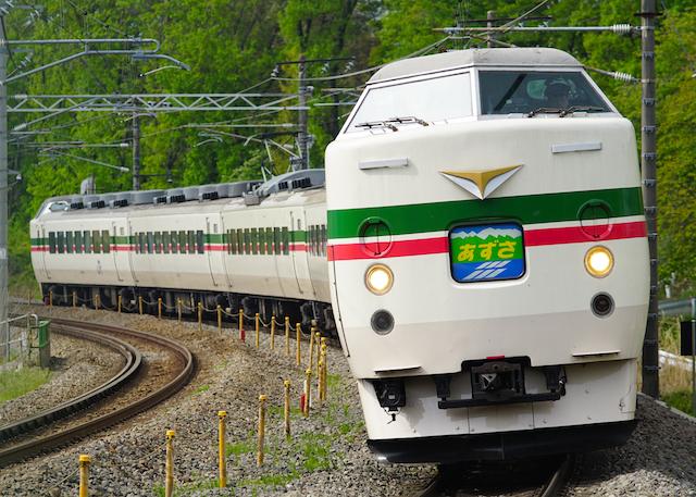 160503 JRE 189 Azusa GU-1
