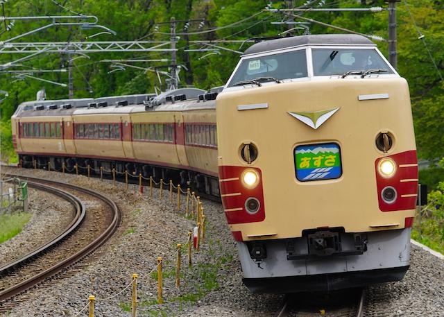 160503 JRE 189 Azusa Kokutetsu-1