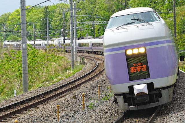160503 JR E 351 Super Azusa J