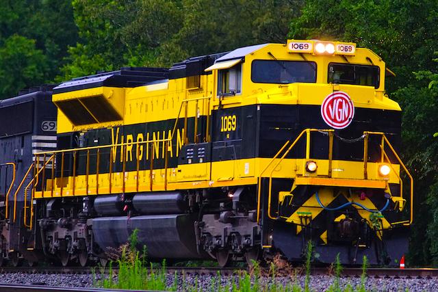 July0916 NS1069 Virginian Unit Irondale-1
