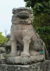 菅生神社06狛