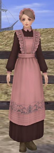 メイドドレスとレースブリム3