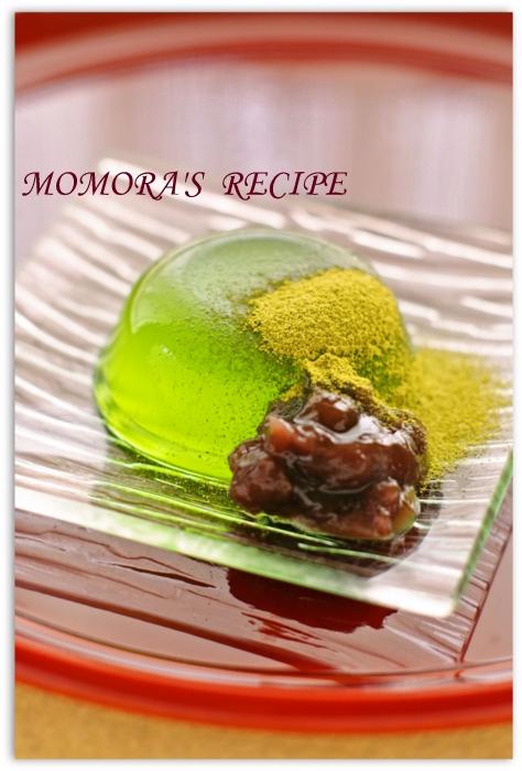 葛粉なし抹茶葛饅頭 (2)