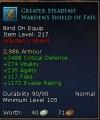 wdn shield lvl 105