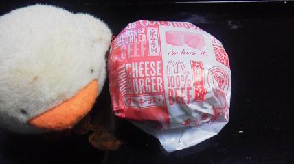 マクドナルド「裏ダブルチーズバーガー」