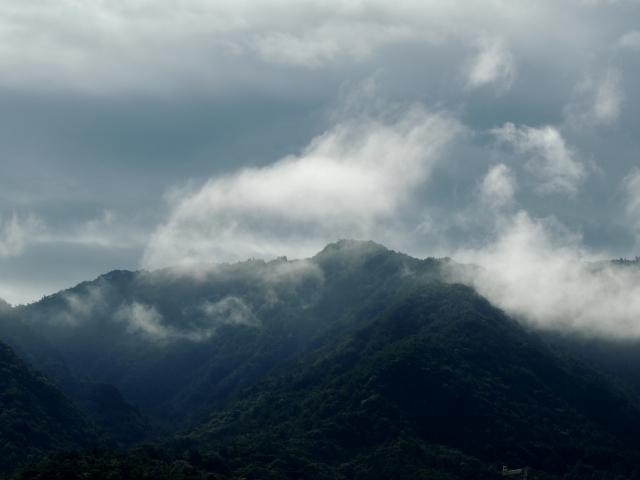 N8334雨上がりの山