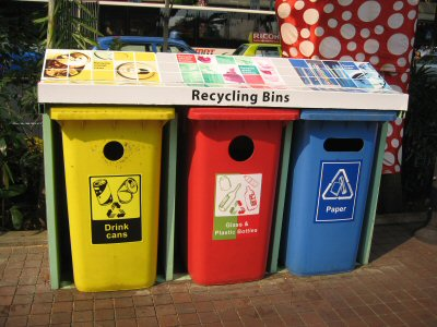 01a 400 Recycling Bins