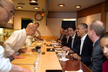 03g 350 sushi Obama