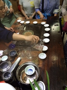 15期茶藝師ツアー3日目試飲