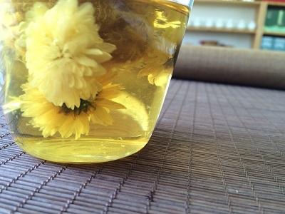 羅漢果と菊