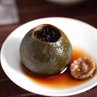 小青柑プーアル茶