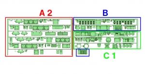 ④ 4連 DCMGワンマン編成(A2 _ B _ C1)