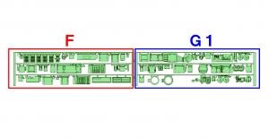 ① 2連 DCMG編成(F _ G1)