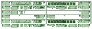 マルーン5301F 床下機器【武蔵模型工房 Nゲージ 鉄道模型】
