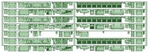マルーン5308F 床下機器【武蔵模型工房 Nゲージ 鉄道模型】