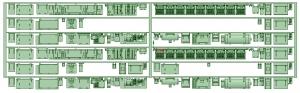 マルーン5311F 床下機器【武蔵模型工房 Nゲージ 鉄道模型】