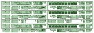 マルーン5315F 床下機器【武蔵模型工房 Nゲージ 鉄道模型】