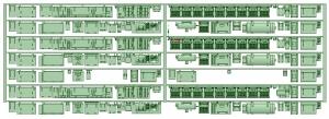 マルーン5313F 床下機器【武蔵模型工房 Nゲージ 鉄道模型】