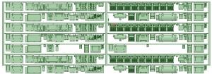 マルーン5319F 5321F 床下機器【武蔵模型工房 Nゲージ 鉄道模型】