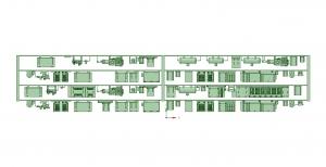 妙見口の1500(1編成分)床下機器【武蔵模型工房 Nゲージ 鉄道模型】