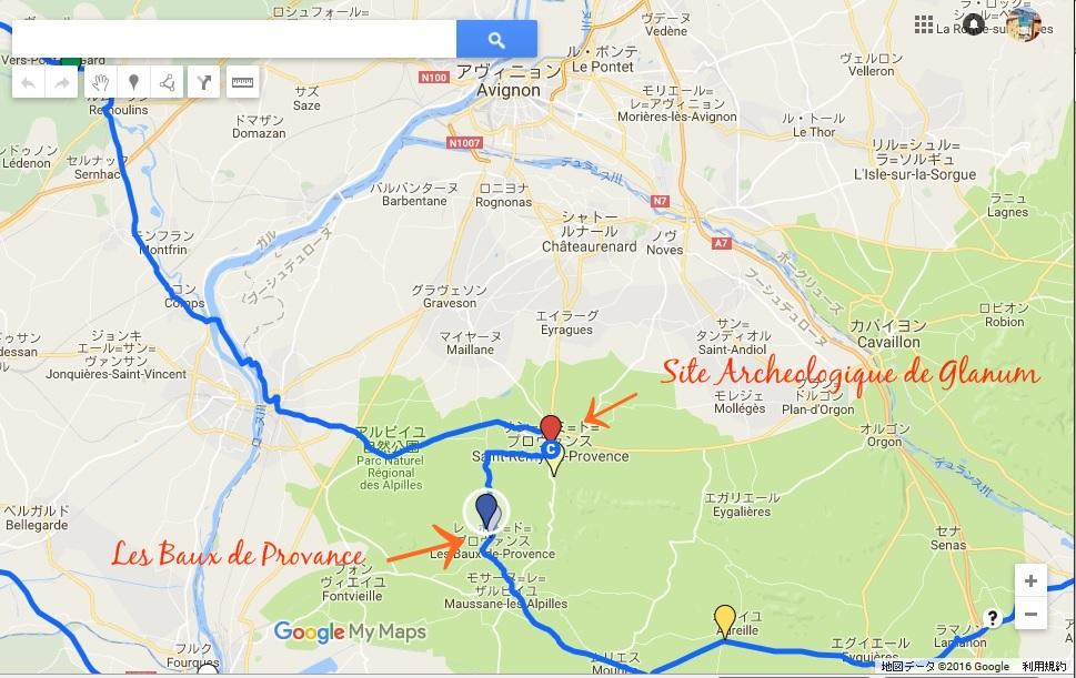 Les Baux de Provence and Site Archeologique de Glanum